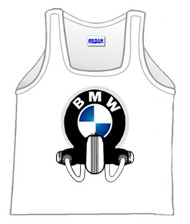 BMW motorcycle tank top