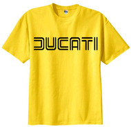DUCATI tee shirt (comp yellow/black)
