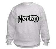 NORTON sweatshirt (ash/black)