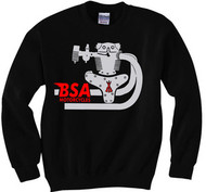 BSA motorcycle 650 sweatshirt