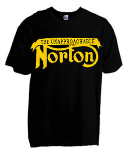 Norton unapproachable tee shirt, Norton motorcycle shirt