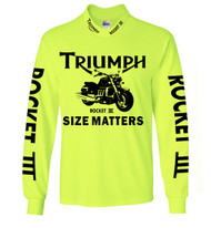 Triumph Rocket 3 High Viz Riding Jersey