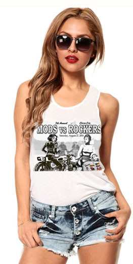 MODS ROCKERS shirt