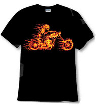 Flaming Rider shirt