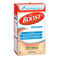 Boost Complete Nutritional Drink, 8 oz. Tetra briks