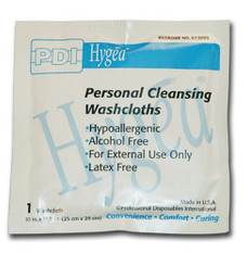 Hygea personal cleansing washcloths
