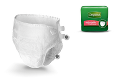 Depend Adjustable (Refastenable) Underwear