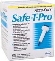 ACCU-CHEK® Safe-T-Pro Lancets 200/BX, 6BX/CS *