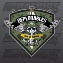The Deplorables 3 Inch Decal