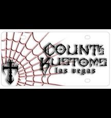 License Plate White Web