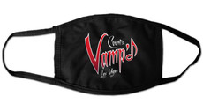 Count's Vamp'd Las Vegas Face Mask  100% cotton Made in USA