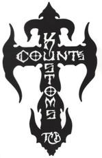 Count's Kross Sticker - Black