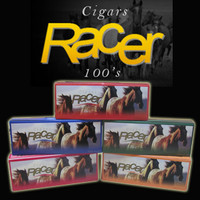 Racer filtered little cigars 100's