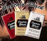 Captain Black filtered little cigars 100's