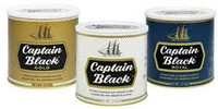 Captain Black Pipe Tobacco Tins