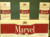 Marvel filtered little cigars full flavor 100's