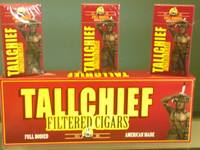 Tallchief filtered little cigars full flavor 100's