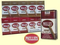 Phillies natural filtered little cigars 100's