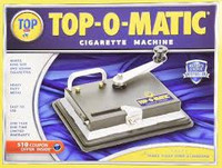 Top-O-Matic tobacco rolling machine