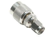Adapter: SMA-male (plug) To RP-TNC-male (plug) Reverse Polarity