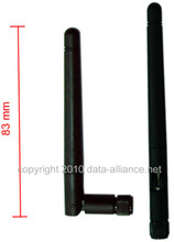 Antenna 2.4GHz 2dBi omni directional w/ SMA-male: Send/recv Signal high