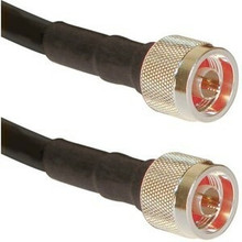 Antenna cable: N-male to N-male: LMR-400 equivalent cable: Optional lengths: 1-FT, 2-FT, 4-FT