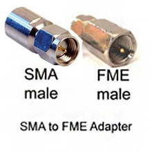 SMA-male to FME-male Adapter for Antenna Cables
