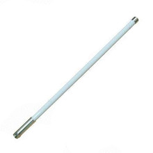 433MHz antenna: 410MHz - 440MHz 2dBi omnidirectional with N-male connector: Fiberglass - suitable for marine use.