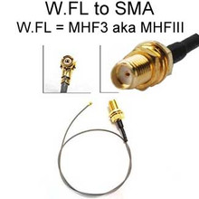 W.FL To SMA-female Cable: 4-inch, 6-inch, 8-inch, 10-inch, 1FT, 14-in, 16-in, 18-in