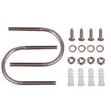 U-bolts L-Mount mounting kit Stainless Setscrews & Pegs