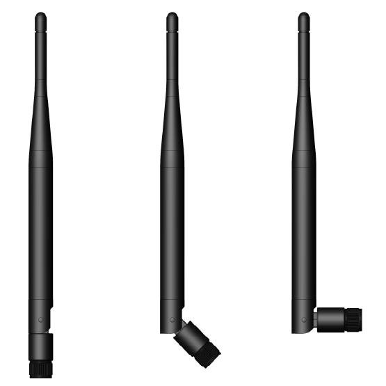 GSM//3G//LTE High Gain Rubber Duck Antenna 6.0 dBi