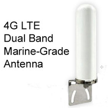 Dual-Band LTE Antenna: 698-960/1710-2700 MHz 4/6dBi:   The mounting bracket is optional:  Check the checkbox if you want the mounting bracket