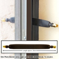 Window Antenna Cable Flat: RP-SMA male To RP-SMA female 7-inches