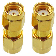 RP-SMA Male To Male adapter / coupler / gender-changer