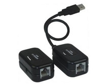 USB Cable Extension up to 197-FT over CAT5 / CAT6 Cable