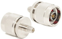 Adapter: N-male to RP-SMA female Reverse Polarity SMA for coaxial cable