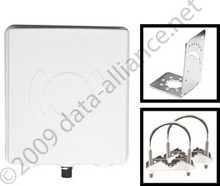 Antenna 2.4GHz 14dBi Long-Range WiFi Panel Directional  signal strength in a beam 80-degrees
