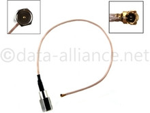 Antenna Cable Assembly: U.FL To FME-male connector:  8-inch coaxial
