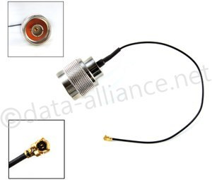 USA-CA LMR100 RP-TNC MALE to FME MALE Coaxial RF Pigtail Cable