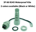 RJ45 waterproof jack kit