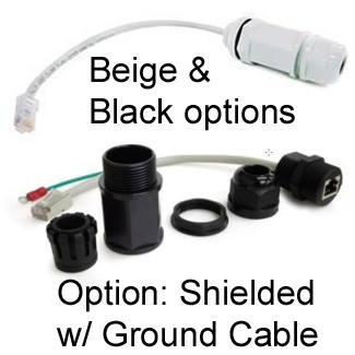 Stupendous Rj45 Cable Gland Feed Thru Waterproof Jack Shielded Ground 7 Cable Wiring 101 Tzicihahutechinfo