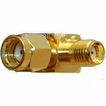 Adapter: Right Angle RP-SMA male To SMA-Female