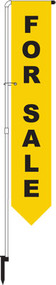 For Sale Yard Marker Yellow