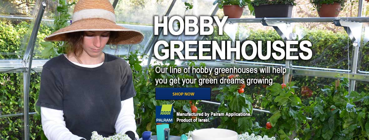 Hobby Greenhouse Kits for Sale