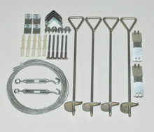 Cable Anchor Kit for Snap & Grow Greenhouses