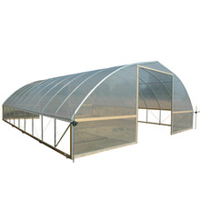 FieldPro® Gothic - High Tunnel Greenhouse