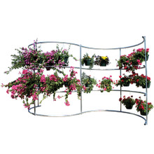 Basket Wave Hanging Basket Display - BW3000