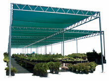 W-Truss - Retail Shade Structure