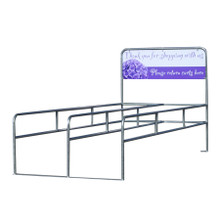 Garden Center Shopping Cart Corrals