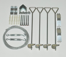 Palram - Canopia | Cable Anchor Kit for Nature Greenhouses